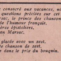 Comic burlecs magazine texte F.D. seul