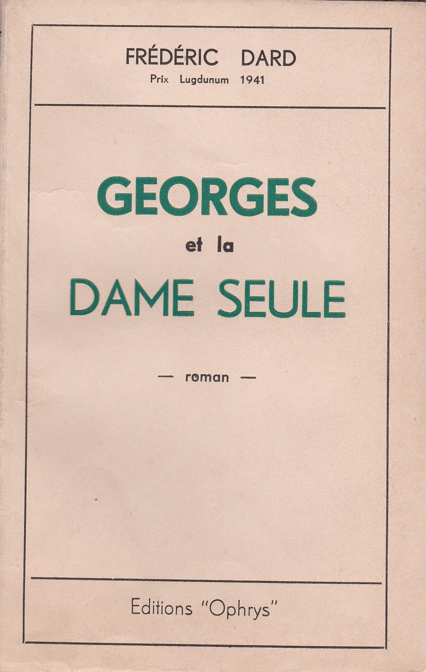 Georges et la dame seule