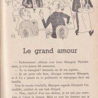 Pour rire n°6 Le grand amour 1