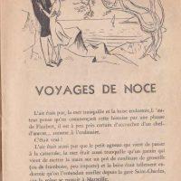 Pour rire n°8 Voyage de noces 1