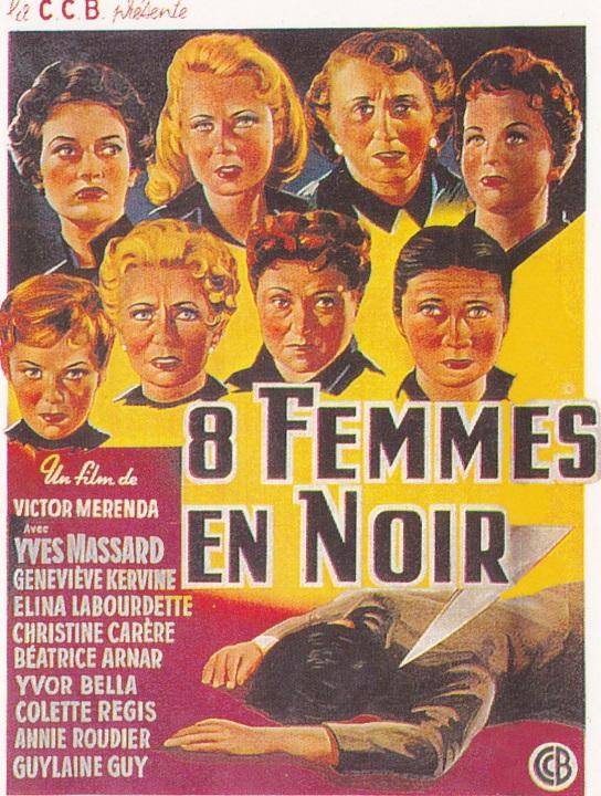 8 femmes en noir