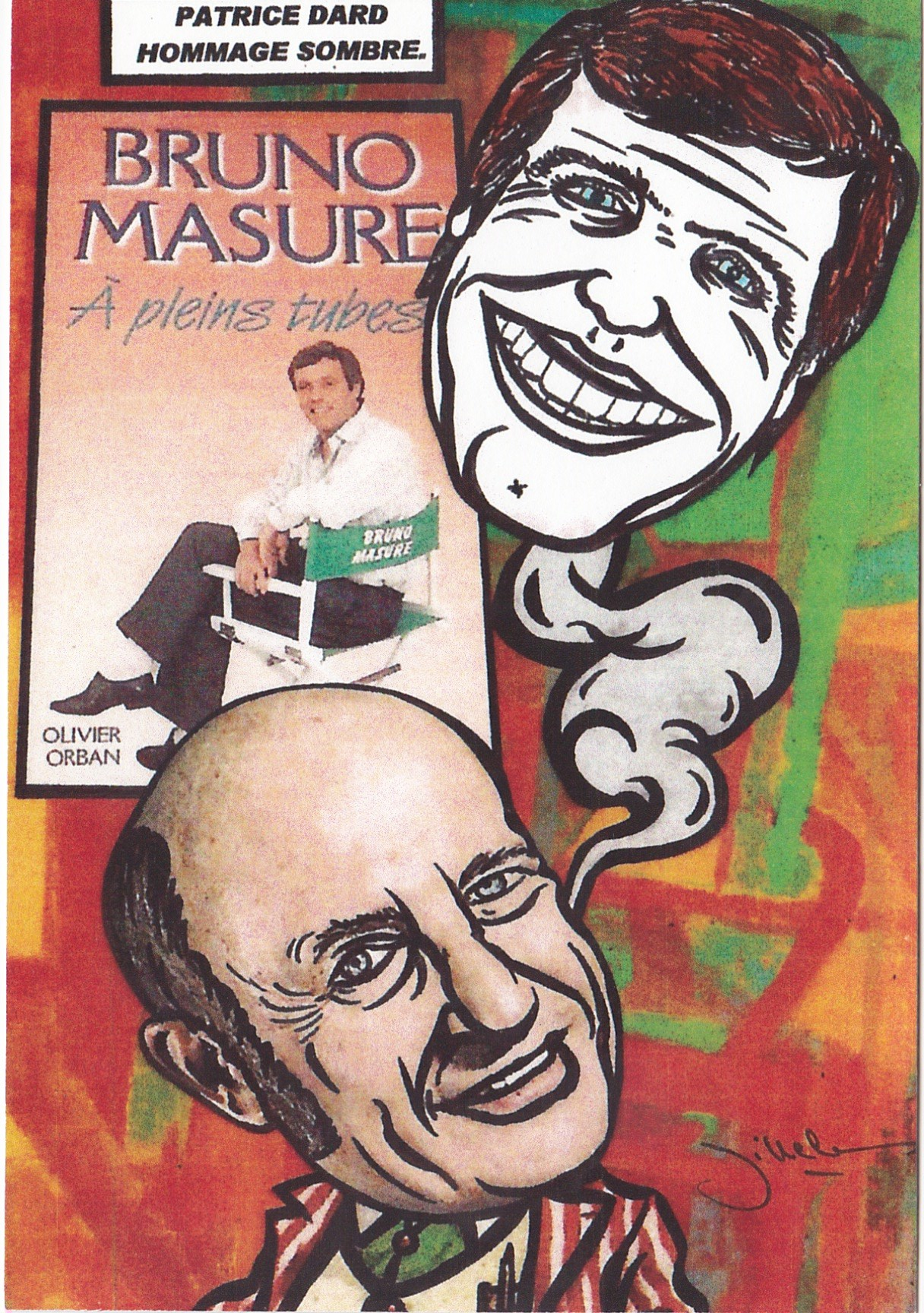Bruno Masure satirique