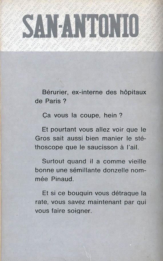 Bravo Docteur Béru back