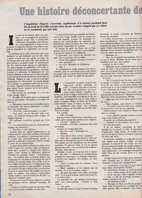 Confidences n° 1602 page 1 histoire