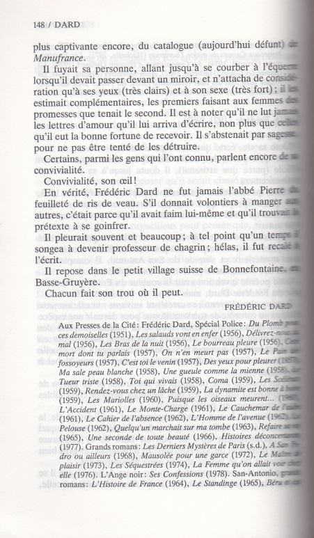 Le dictionnaire page 2 de Dard