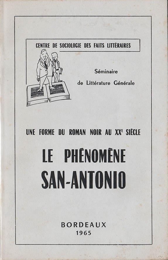Le phénomène San-Antonio