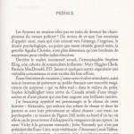 Le silence du loup préface page 1