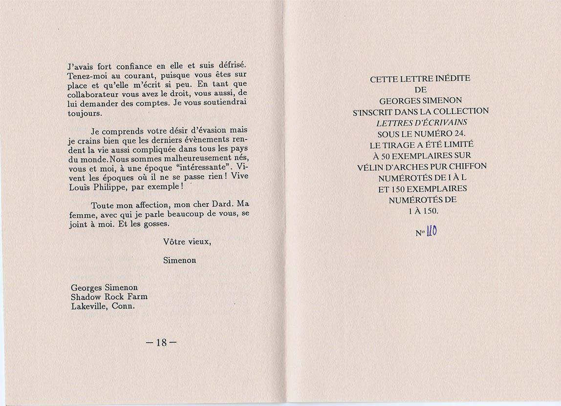 Lettre à Frederic Dard interieur 2