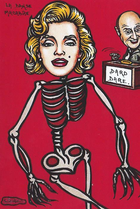 Marylin Monroe La danse macabre