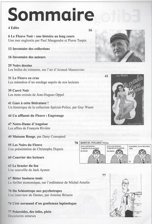 Revue 813 n°68 sommaire