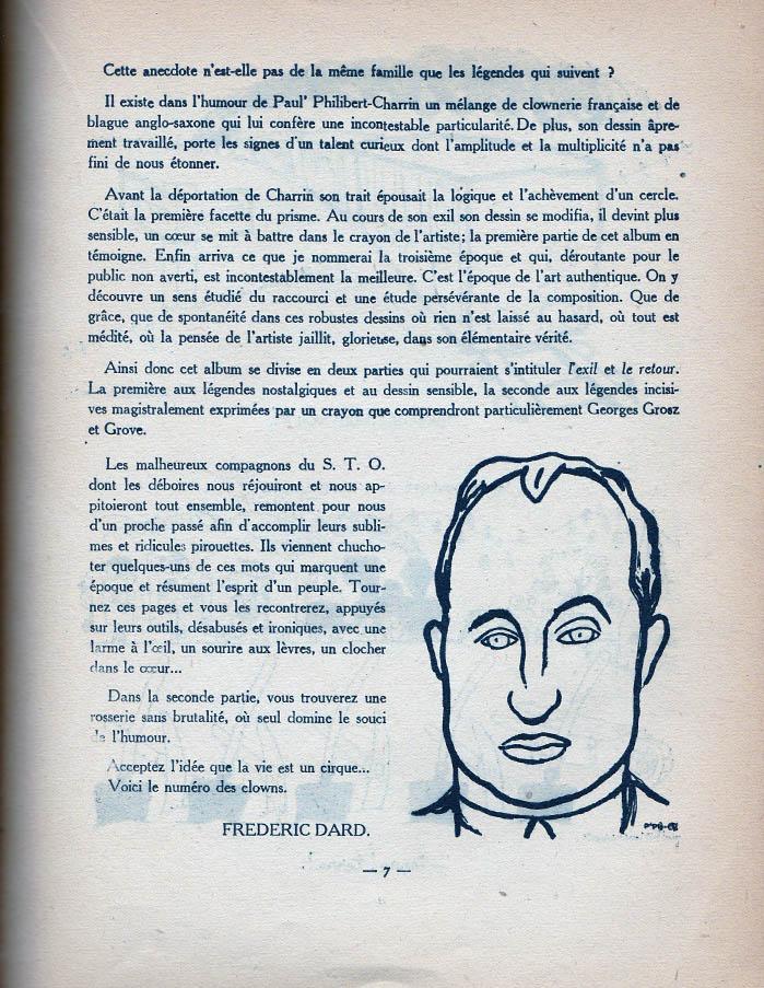 S.T.O. dernière page préface F. Dard