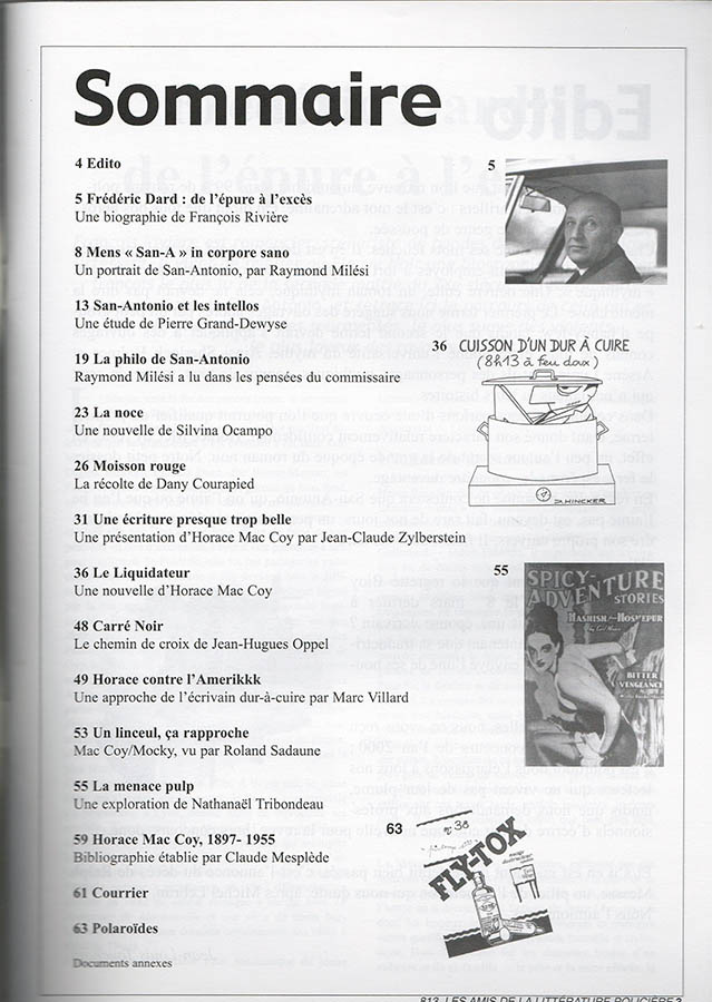 revue 813 n°67 sommaire