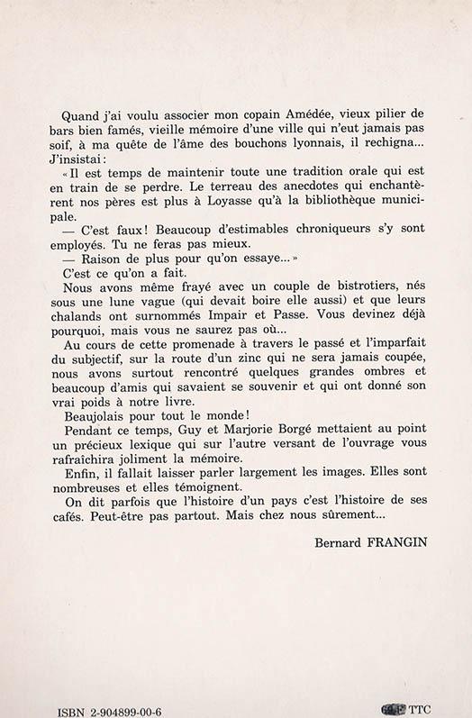 Bistrots de Lyon back
