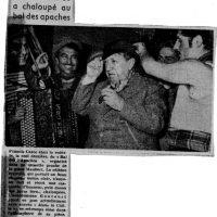 Francis CARCO à l'honneur en première page de France-Soir, 29 septembre 1952