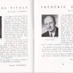 Georges Vitaly et Frédéric Dard