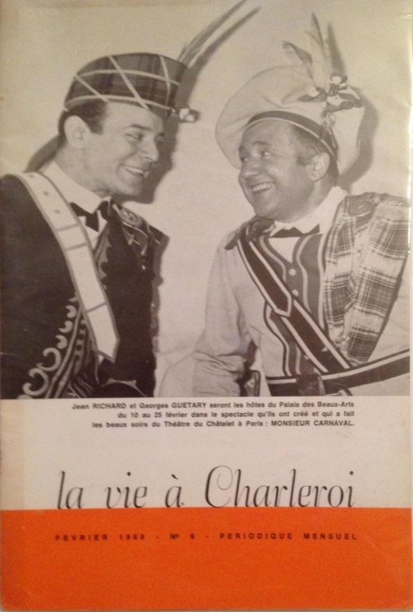La vie à Charleroi n°6 février 1968