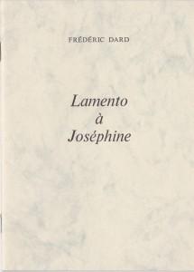 Lamento à Joséphine