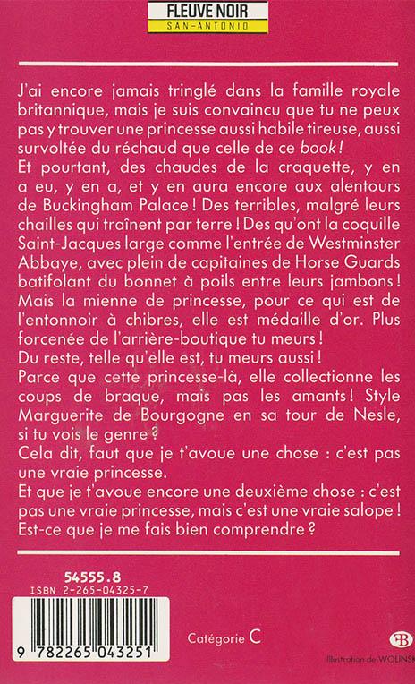 Princesse Patte-en-l'air back