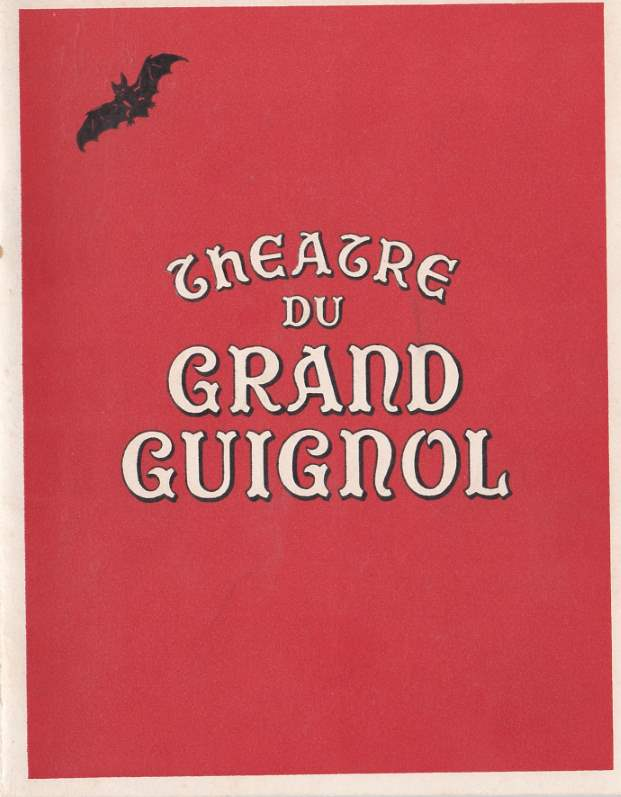 Théatre du Grand Guignol - Programme 1953-54