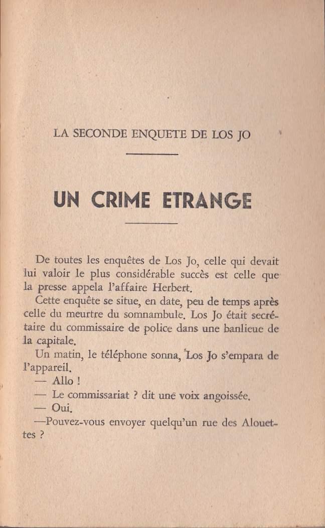 Un crime étrange dans Le disque Mystérieux