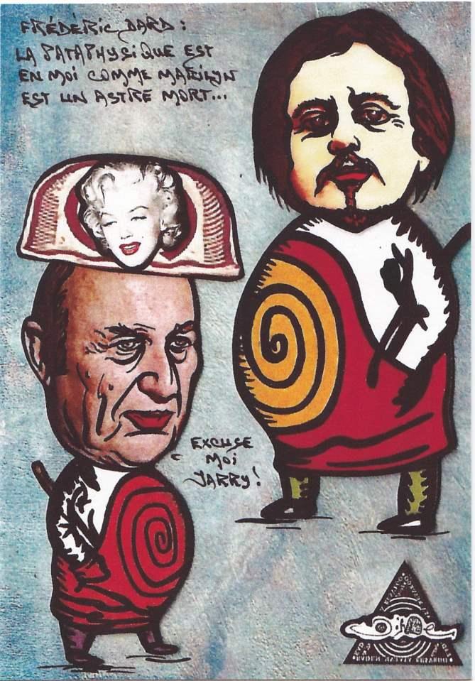 Alfred Jarry, la pataphysique et Marylin