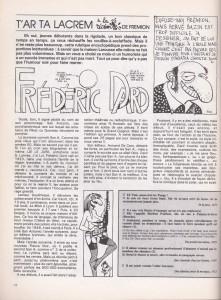 Fluide Glacial n° 107 Article