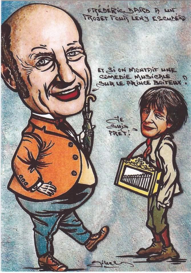 Frédéric Dard a un projet pour Leny Escudero