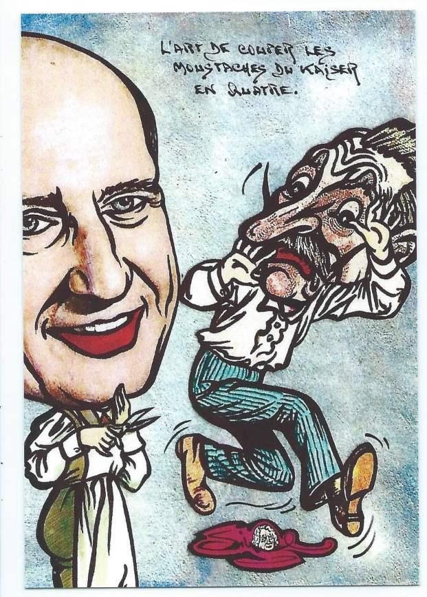 Frédéric Dard barbier du Kaiser