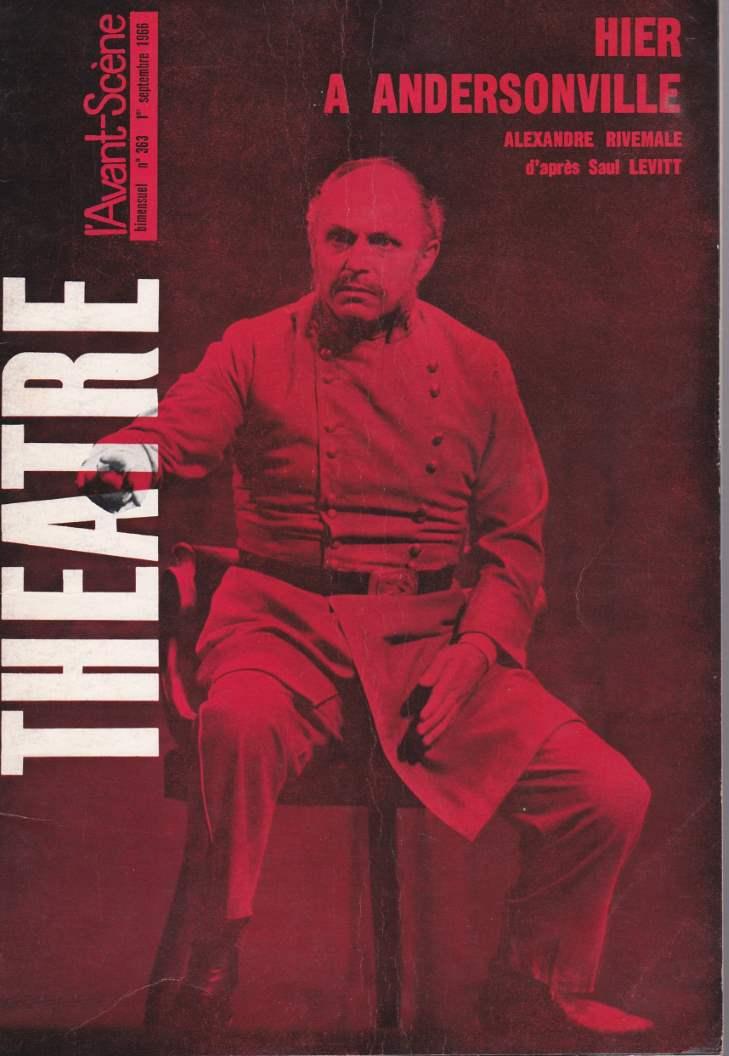 L'Avant-Scène Théâtre 363