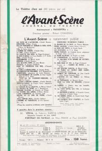 L'Avant-Scène Théâtre 97 back