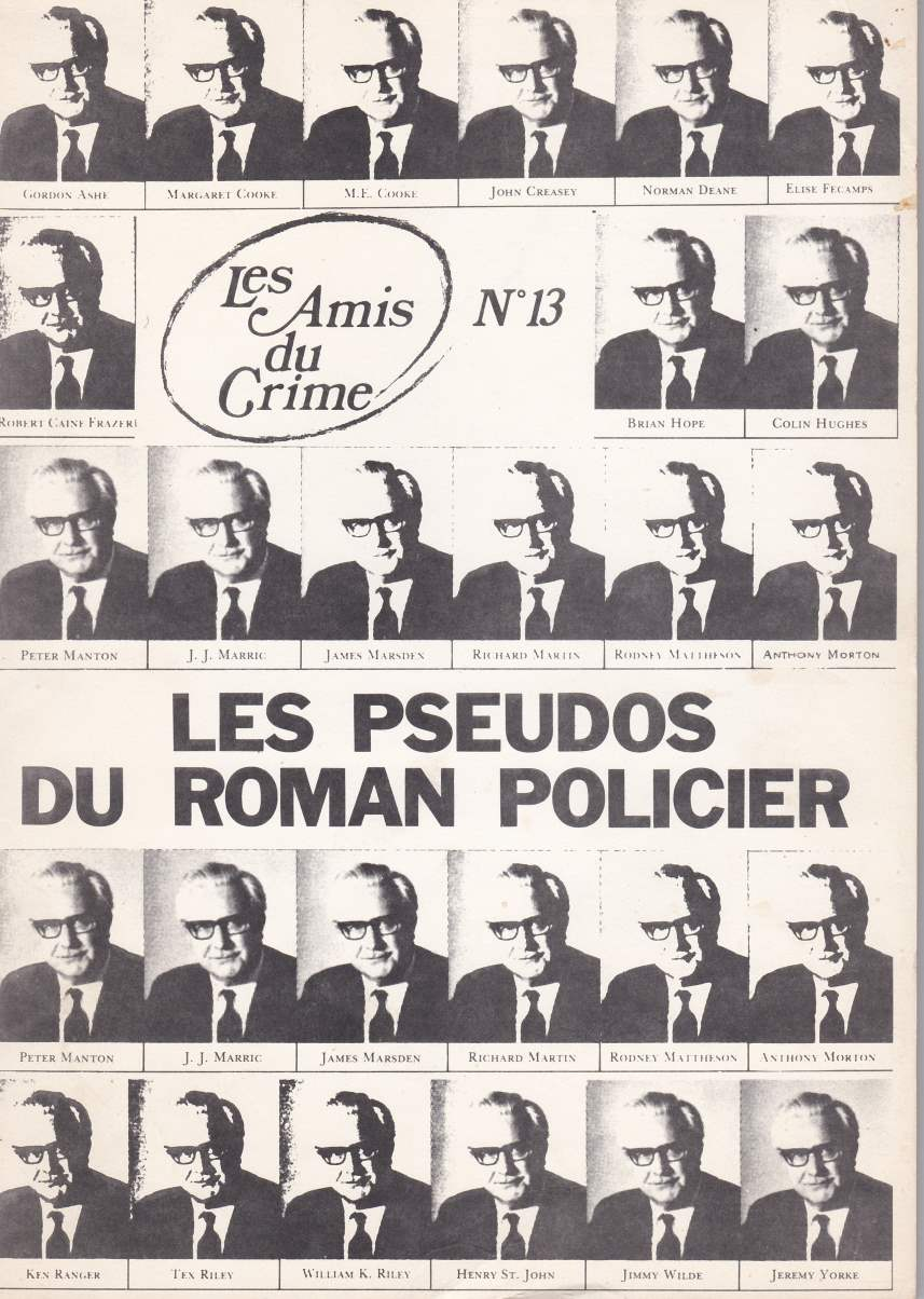 Les Amis du Crime n°13