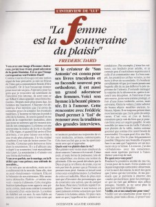 Lui n°67 interview