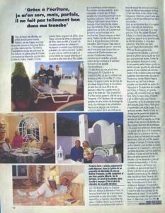 Paris-Match n°2268 Article 4 pages