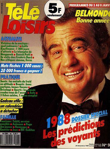 Tele loisirs n°96 1988