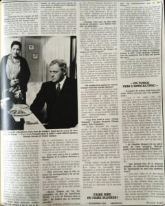 Ciné-Revue 21 janvier 1982 interview 2