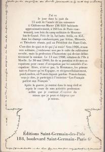 Les Pensées de Pierre Dac, ed Saint gERMAIN BACK