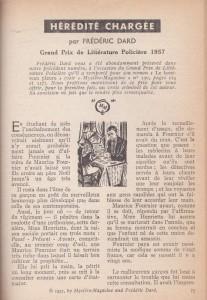 Mystère Magazine n°121 intérieur
