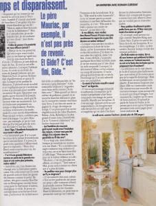 Paris-Match n°2403 interieur 2