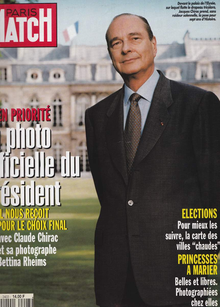 Paris-Match n°2403
