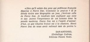 Pierre Dac Les Pensées préface