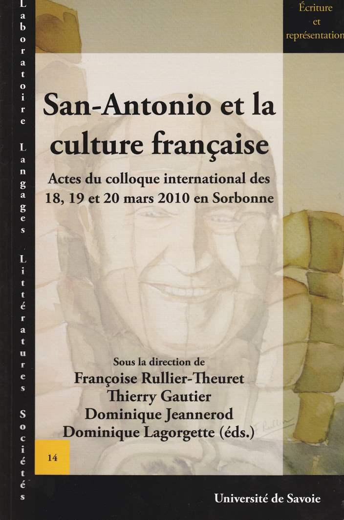 San-Antonio et la culture française