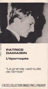 L'épornopée Damaisin back