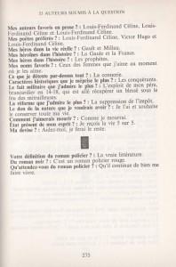 Panorama du plar contemporain français questionnaire 1