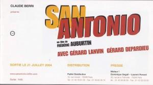 Synopsis San-Antonio présentation