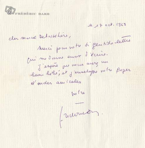 manuscrit frédéric dard