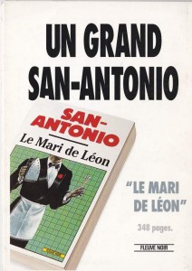 Catalogue Exposition Frédéric Dard San-Antonio 1990 back
