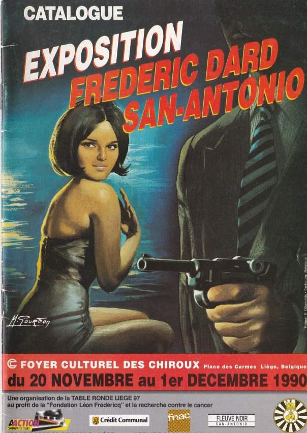 Catalogue Exposition Frédéric Dard San-Antonio 1990