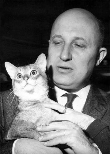 Frédéric et son chat