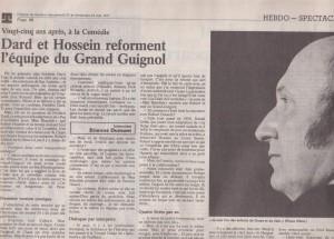 La tribune de Genève article