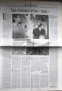 Le Monde 14 avril 2001 article